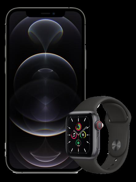 Buy iPhone 12 Pro Max & Apple Watch SE (40mm) Combo Deal| Digi