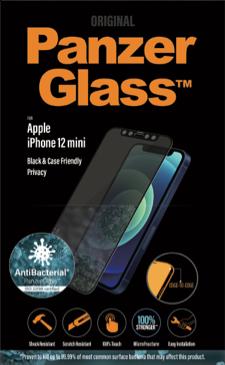 PanzerGlass iPhone 12 Mini Privacy Black