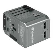 Verbatim 36W 4 Ports PD 29W Travel Adapter