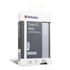 Verbatim Type C Hub 6 in 1