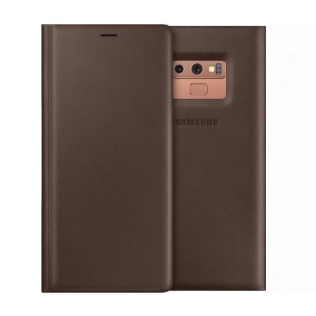 Samsung Note 9 Leather Cover