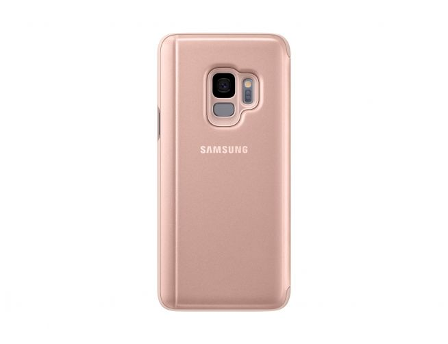 Samsung S9 Clear View Stand Cover