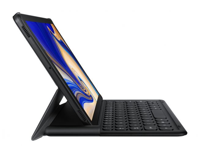 Samsung Tab S4 Keyboard Book Cover
