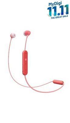 SONY Wireless In-ear Headphones WI-C300